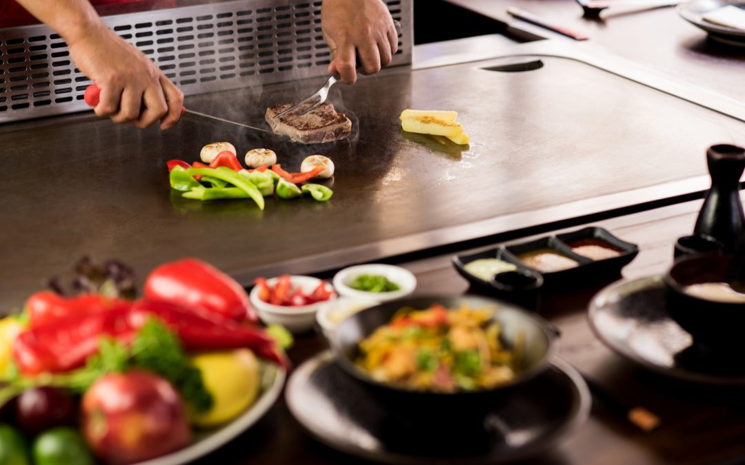 It´s time for Teppanyaki