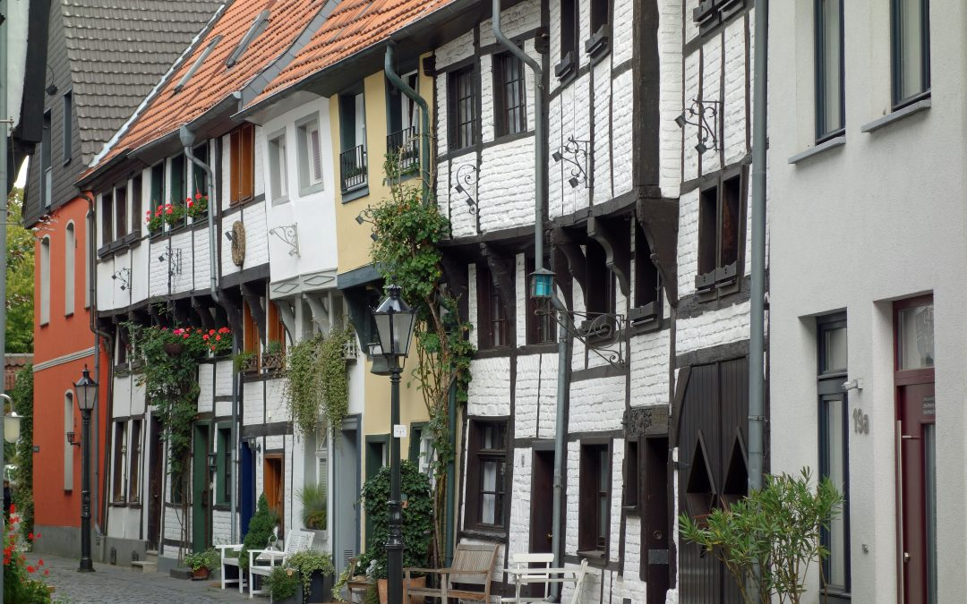 The historical town center of Kempen