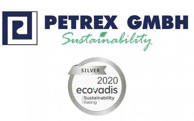 Petrex GmbH reached the EcoVadis silver status!